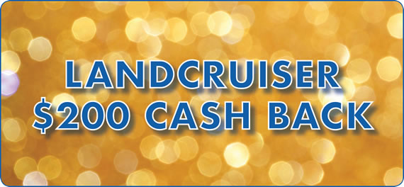landcruiser 200 cashback